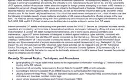 Raport NSA and CISA