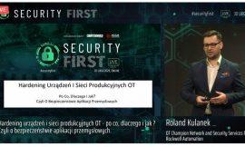 SecurityFirst – Hardening sieci i urządzeń ICS/OT. Cyberbezpieczeństwo